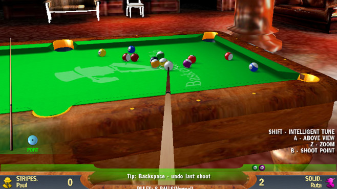 Free Billiards 2008 © FreeGamePick.com