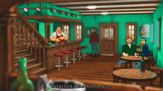 Baphomets Fluch 2.5: Bar ©Mindfactory