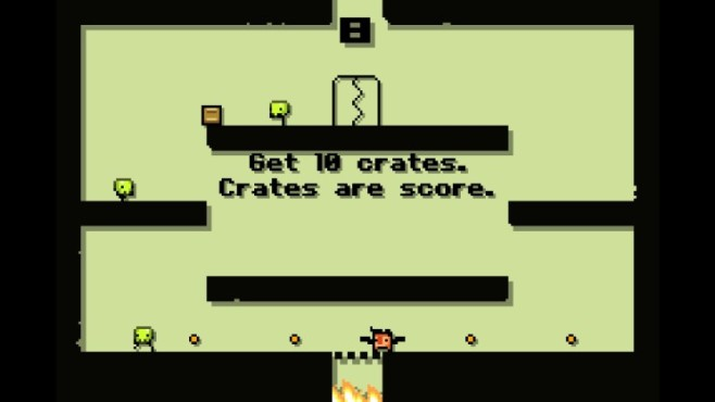 Super Crate Box: Level © Vlambeer