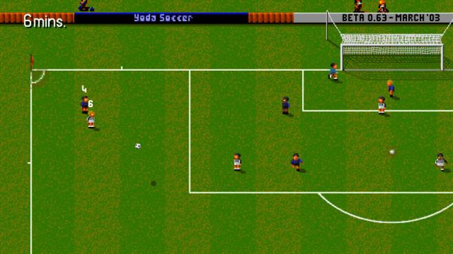 Yoda Soccer: Eckstoß ©Yoda Soccer Team