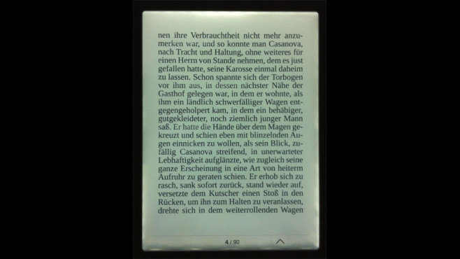 eBook-Reader Pocketbook Touch Lux © COMPUTER BILD