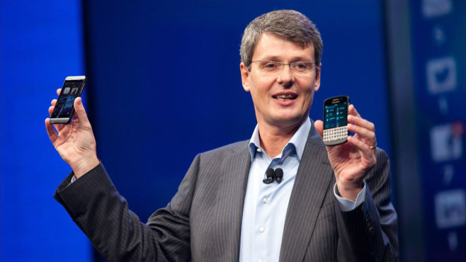 Ex-CEO Thorsten Heins © BlackBerry