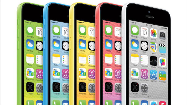 iPhone 5C © Apple