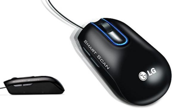 LG LSM-100 Maus-Scanner ©LG Electronics, Amazon