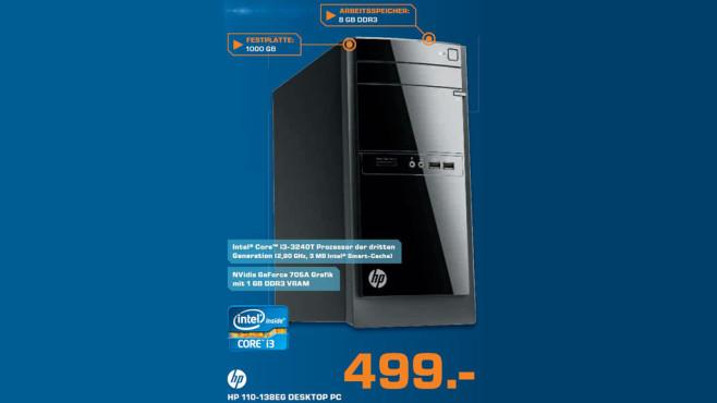 Hewlett-Packard HP 110-138EG ©Saturn
