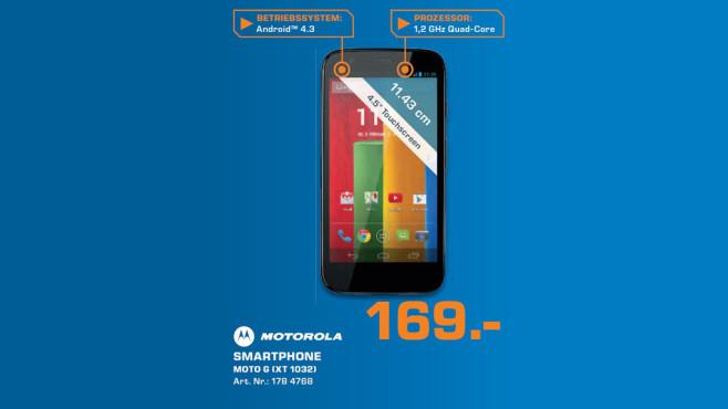 Motorola Moto G 8GB ©Saturn