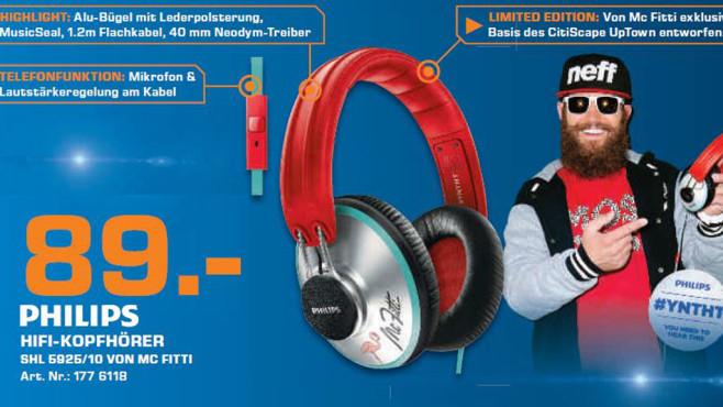 Philips Citiscape SHL5925/10 MC Fitti Limited Edition ©Saturn