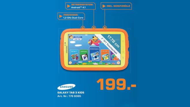 Samsung Galaxy Tab 3 Kids ©Saturn