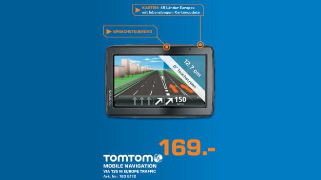 TomTom Via 135 M Europe Traffic ©Saturn