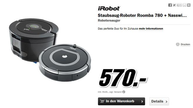 Putzroboter-Set ©Media Markt