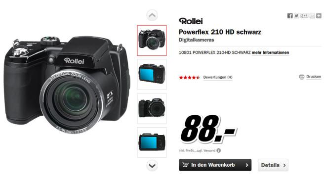 Rollei Powerflex 210 HD ©Media Markt