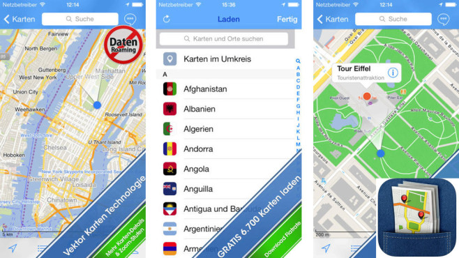 City Maps 2Go © Ulmon Gmbh