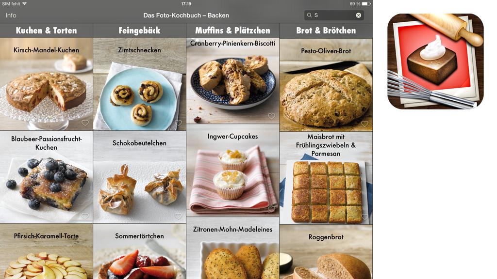 Apps gryphn episoder vjay wimbeldon und infinty blade for Kochbuch backen