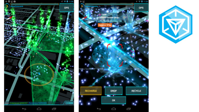 Ingress © NianticLabs@Google