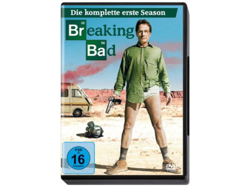 Breaking Bad – Die komplette erste Season (DVD) © Sony Pictures Home Entertainment
