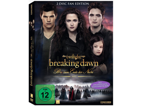 Breaking Dawn – Biss zum Ende der Nacht Teil 2 (DVD) © Concorde Video