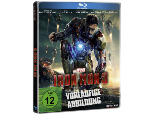 Iron Man 3 – Steelbook (Blu-ray) © Concorde Video