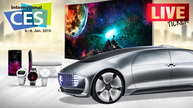 CES 2015 ©Copyrights Samsung, LG, CES, Mercedes, Sony, somchaij - Fotolia.com, Sergey Nivens - Fotolia.com