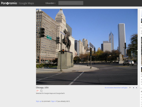 Platz 17: Chicago © Google, Edith Endrenyi