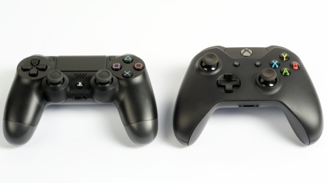 Xbox One vs. Playstation 4: Controller-Vergleich © Sony, Microsoft