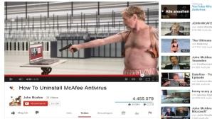 McAfee-Video ©Youtube, John McAfee