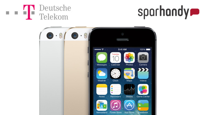 Telekom-Angebot vs. Sparhandy © Telekom, Sparhandy, Apple