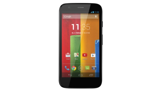 Motorola Moto G 8GB ©COMPUTER BILD