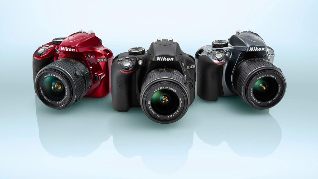 Nikon D3300 in drei Farben erh�ltlich©Nikon