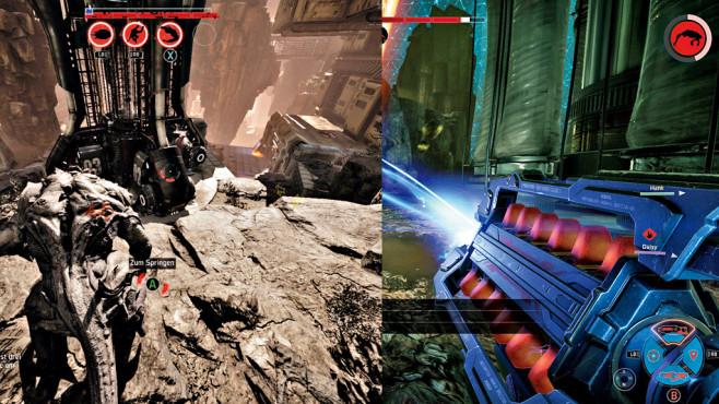 Evolve – Montage: COMPUTER BILD SPIELE ©2K Games, Montage: COMPUTER BILD SPIELE