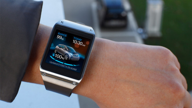 Samsung Galaxy Gear © BMW Group