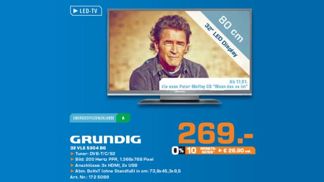 Grundig 32 VLE 5304 BG ©Saturn