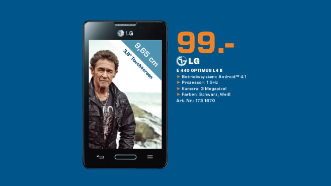 LG Optimus L4 II © Saturn