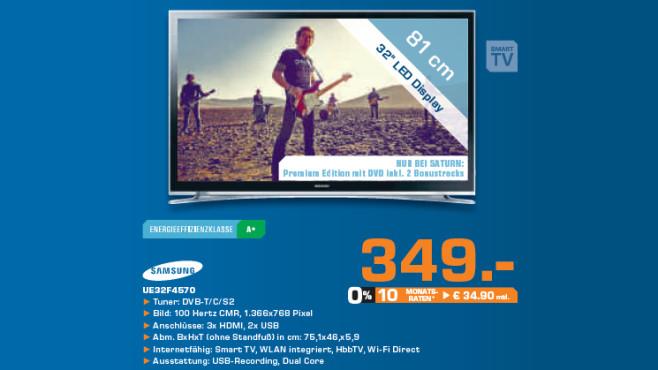 Samsung UE32F4570 ©Saturn