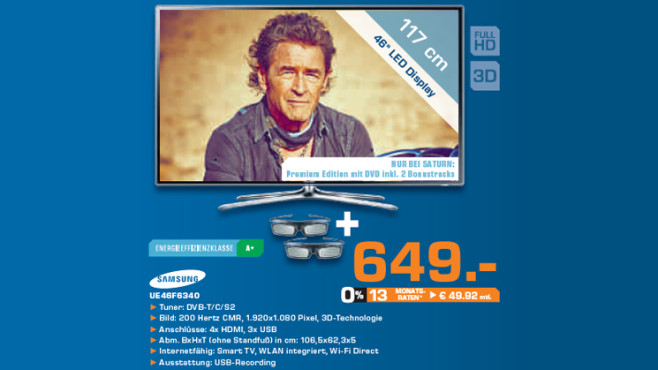Samsung UE46F6340 ©Saturn