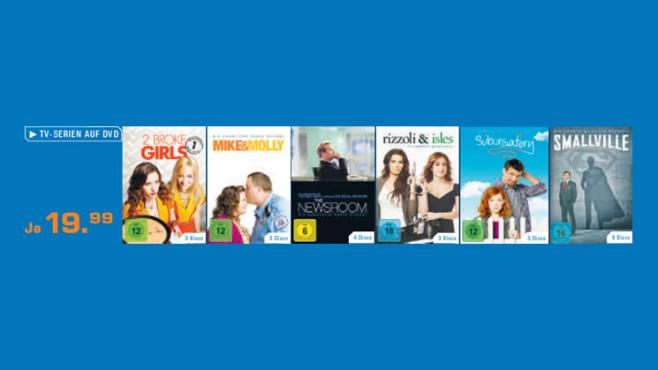 TV-Serien auf DVD ©Saturn
