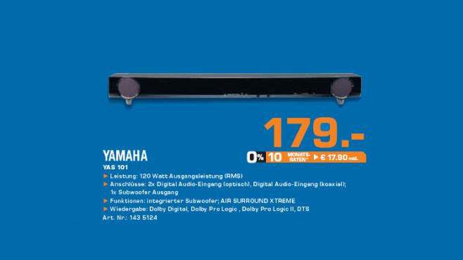 Yamaha YAS-101 ©Saturn