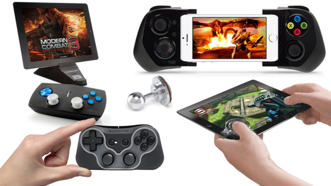 f r iphone ipad und android besser zocken mit gamepads. Black Bedroom Furniture Sets. Home Design Ideas