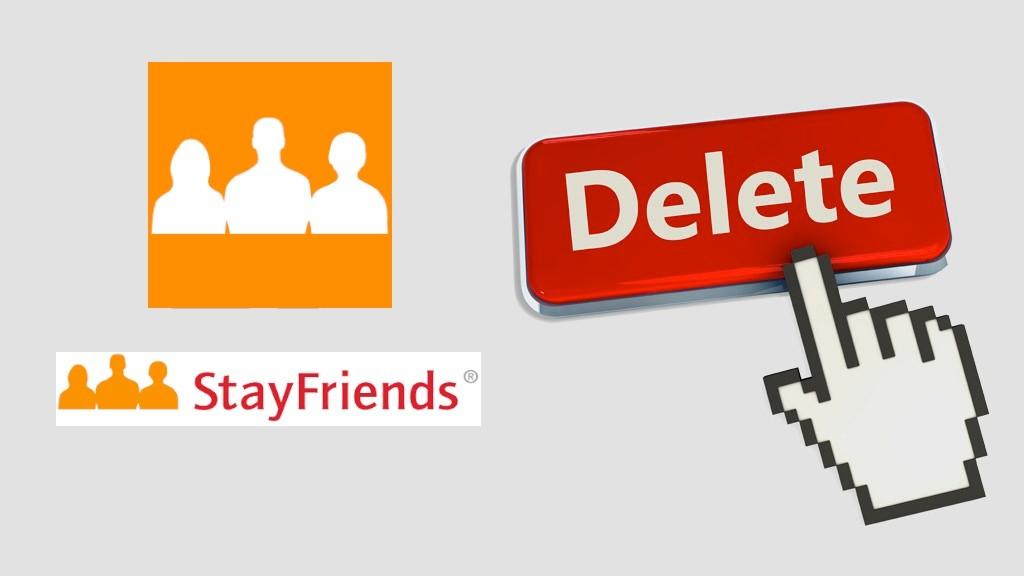 wie kann ich mein profil bei stayfriends löschen