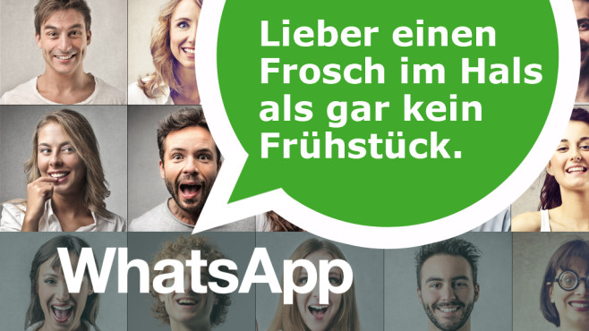 Die besten WhatsApp-Statusmeldungen ©WhatsApp