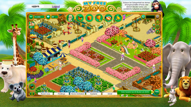 My Free Zoo ©upjers GmbH