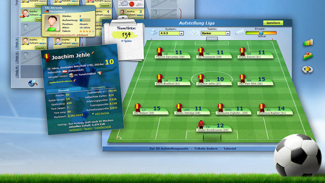 Online Fußball Manager ©Online Fußball Manager GmbH