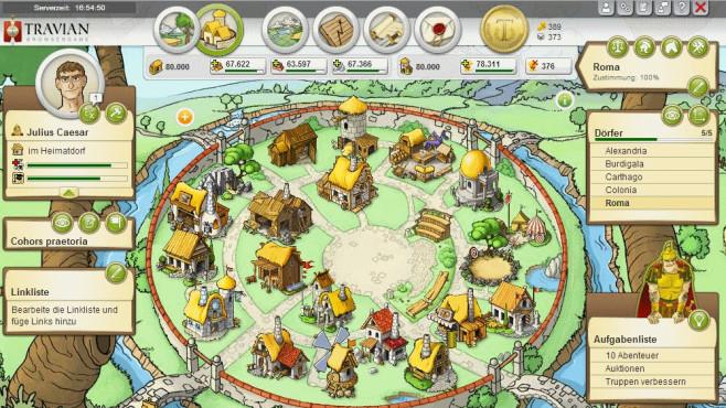 Travian: Dorf ©Travian Games
