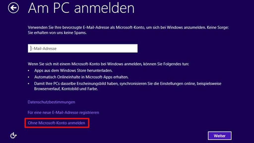 Windows 8 Anmeldung Nicht Möglich