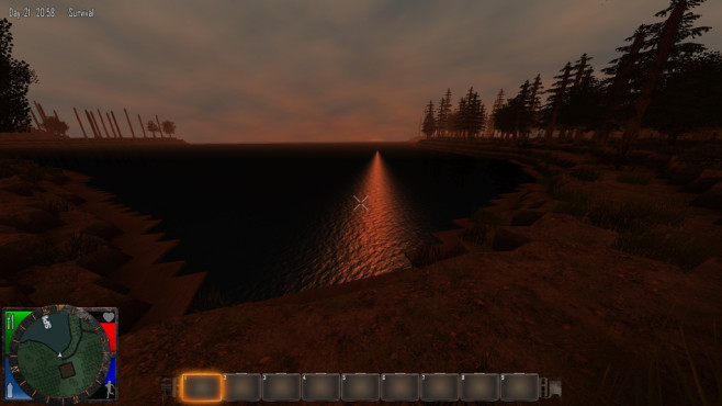 7 Days To Die: Sonnenuntergang © The Fun Pimps