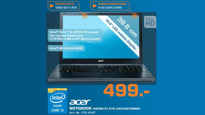 Acer Aspire e1-572-34014G1TDnKK ©Saturn