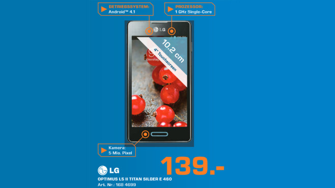 LG Optimus L5 II © Saturn
