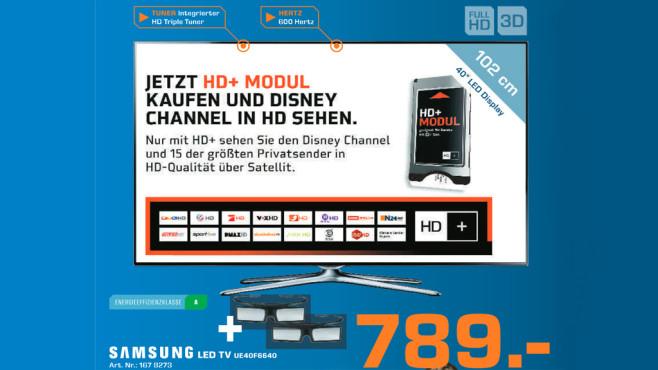 Samsung UE40F6640 ©Saturn