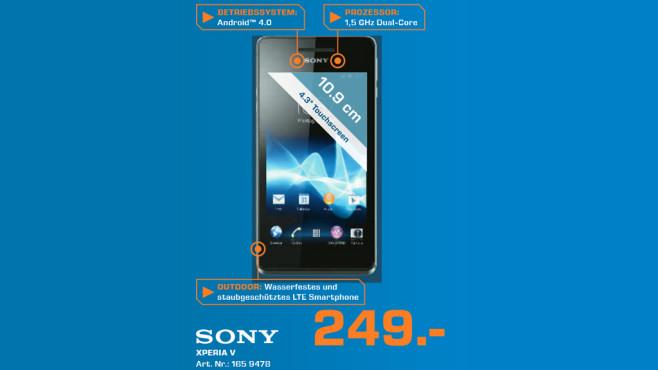Sony Xperia V ©Saturn