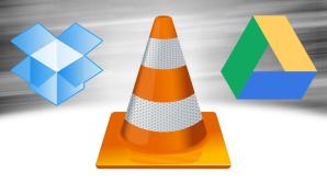 VLS spielt Inhalte von Dropbox und Google Drive ab ©VLC, Google, Dropbox