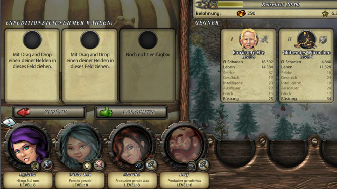 Browserspiel Cultures Online: Expedition © Gamigo